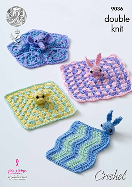 Amazon King Cole Double Knit Crochet Pattern For Baby Comfort
