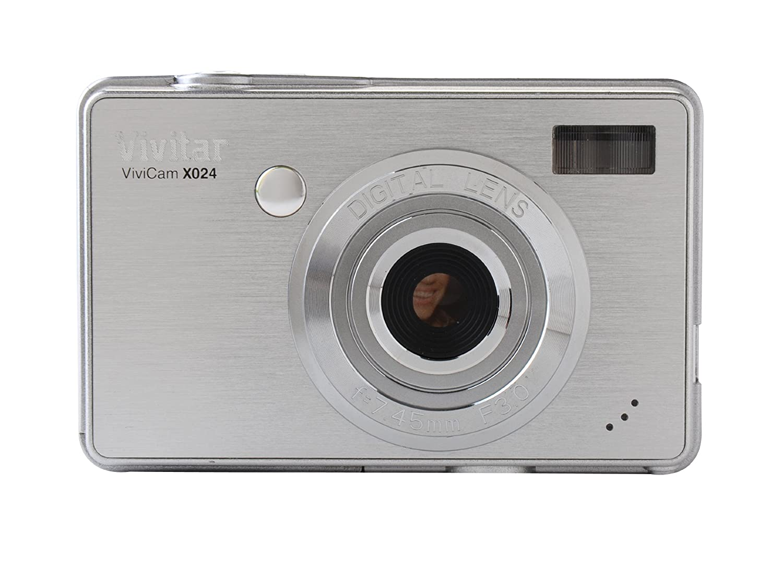 Amazon.com : Vivitar Vivicam X024 10.1MP Digital Camera W/4x Digital Zoom -  Silver : Point And Shoot Digital Cameras : Camera & Photo
