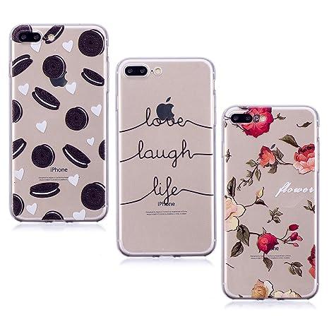 custodia iphone 7 plus fiori