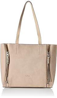 Handtasche Damen Cosima, Shopper, Tasche rosa, Elfenbein (Rose), 13x30x38 cm Gabor