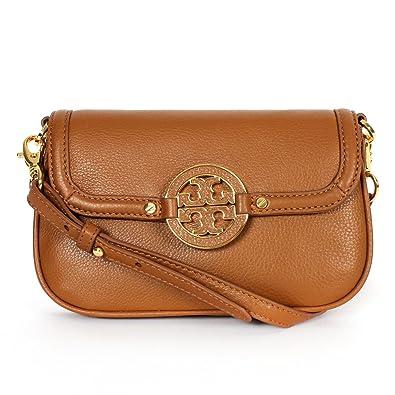 2f31cd7a6d888e Tory Burch Amanda Crossbody Bag Royal Tan Leather  Handbags  Amazon.com