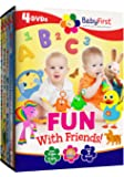 BabyFirst: Fun with Friends Bundle (Best of BabyFirst Volume 3, Tillie Knock Knock, Peek-A-Boo I See You, Hoppy Learning with Harry the Bunny)