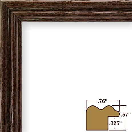 Amazon.com - 17x24 Picture / Poster Frame, Wood Grain Finish, .75 ...