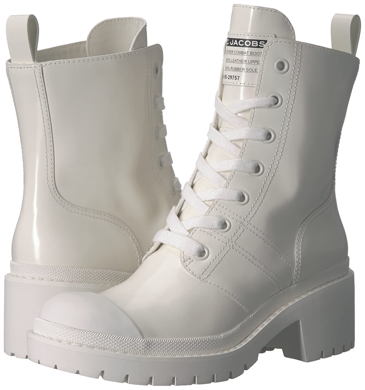 Marc Jacobs Women's Bristol Laced Ankle Boot B078211FZ5 38.5 M EU (8.5 US) White