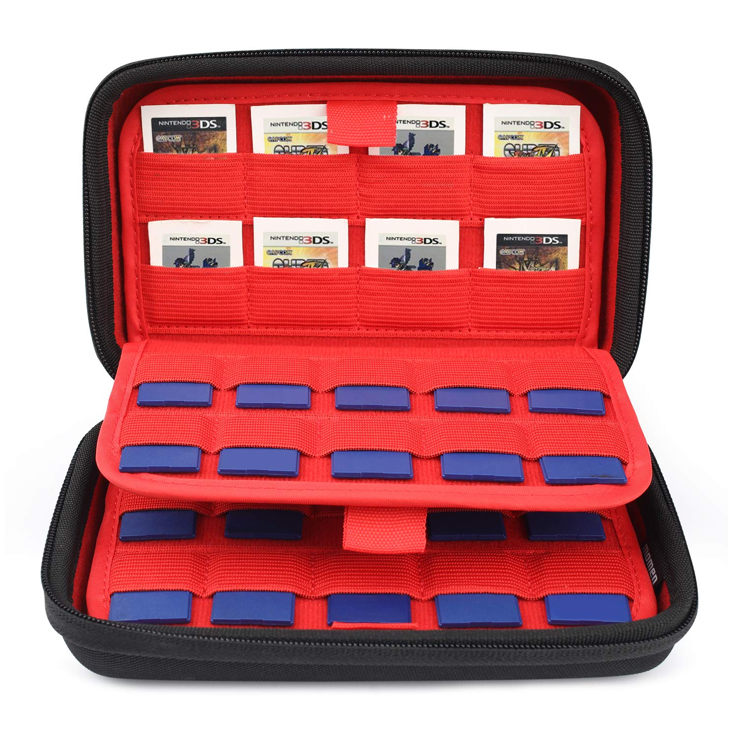 Nintendo Switch Game Card Case,Game Card Storage Box,SD Memory Cards with 72 Elastic Slots Card Holders for Nintendo Switch 3DS/2DS, Ps Vita Games - Amazon Vine