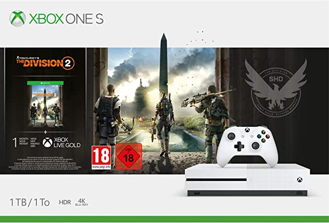 Microsoft Xbox One S - Consola 1 TB + División 2: Microsoft: Amazon.es: Videojuegos
