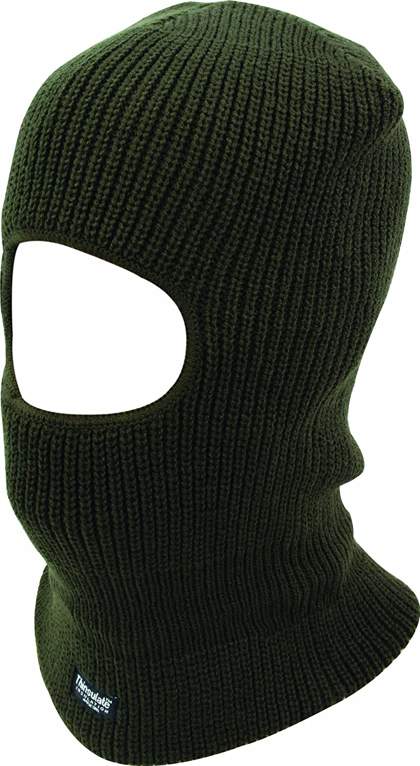 Highlander Open Face Thinsulate Balaclava One Size HAT154-BK-01
