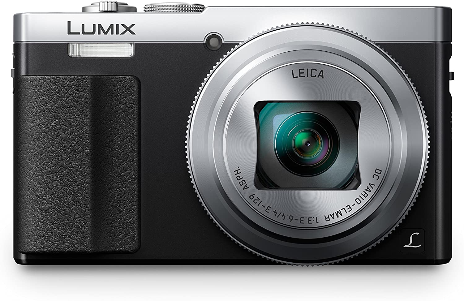 Panasonic Lumix DC-TZ70 - Cámara Compacta de 12,1 MP (Super Zoom, Objetivo F3.3-F6.4 de 24-720mm, Zoom de 30X, Estabilizador Óptico, FHD, WiFi, Raw), Color Plata