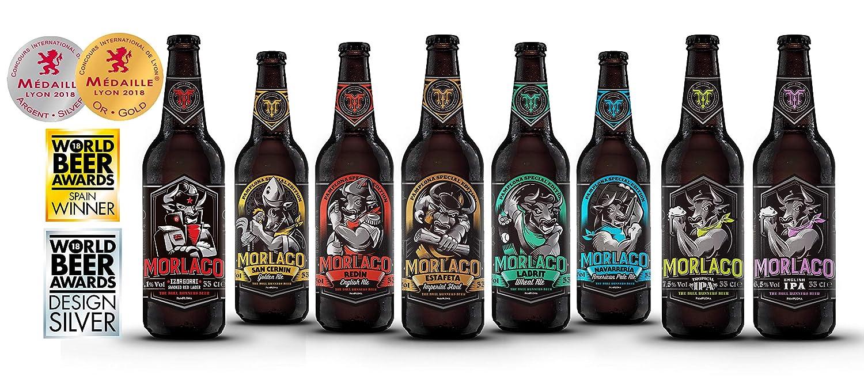 Cerveza artesana Morlaco Navarrería (Pack 12 botellines): Amazon.es: Alimentación y bebidas