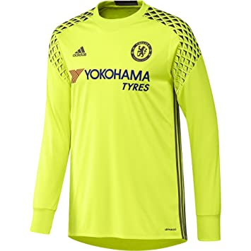 the best attitude ec166 4b492 adidas Chelsea Home GK Shirt 2016 2017: Amazon.co.uk: Sports ...