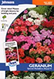 johnsons seeds - Pictorial Pack - Fiore - Geranio Special Multiflora Mix F1 - 10 Semi