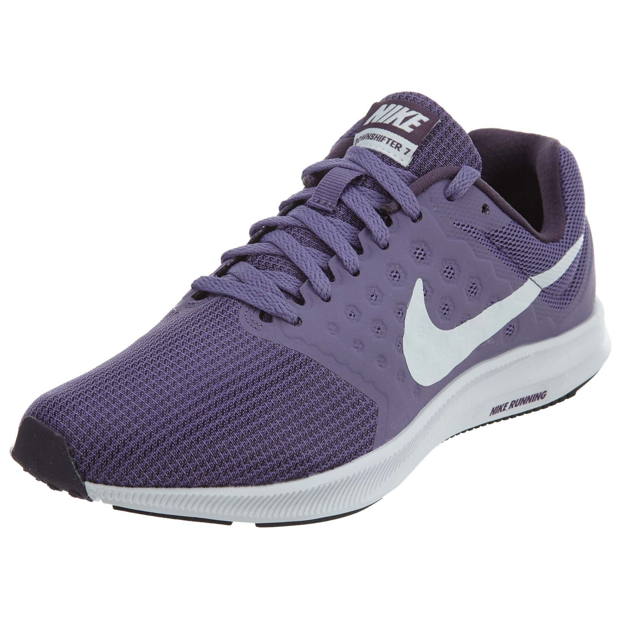e43fdf611389e Galleon - Nike Women s Downshifter 7 Running Shoe Purple Earth White Dark  Raisin Black Size 9 M US