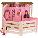 Our Generation Dolls Saddle Up Stables Horse Barn for Dolls, 18""