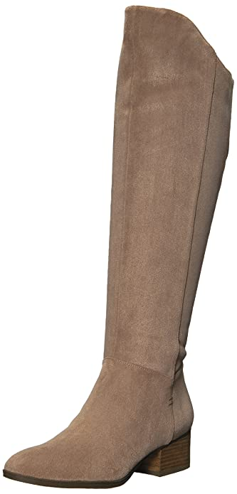 fe9db488370b Dr. Scholl s Shoes Women s Tribute Riding Boot Putty Microfiber ...