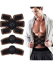 LOFFU Abs Trainer,EMS Abdominal Muscle Stimulator,Abdominal Toning Belts,ABS Machine Ab Belt Toning Gym Workout Machine For Men & Women
