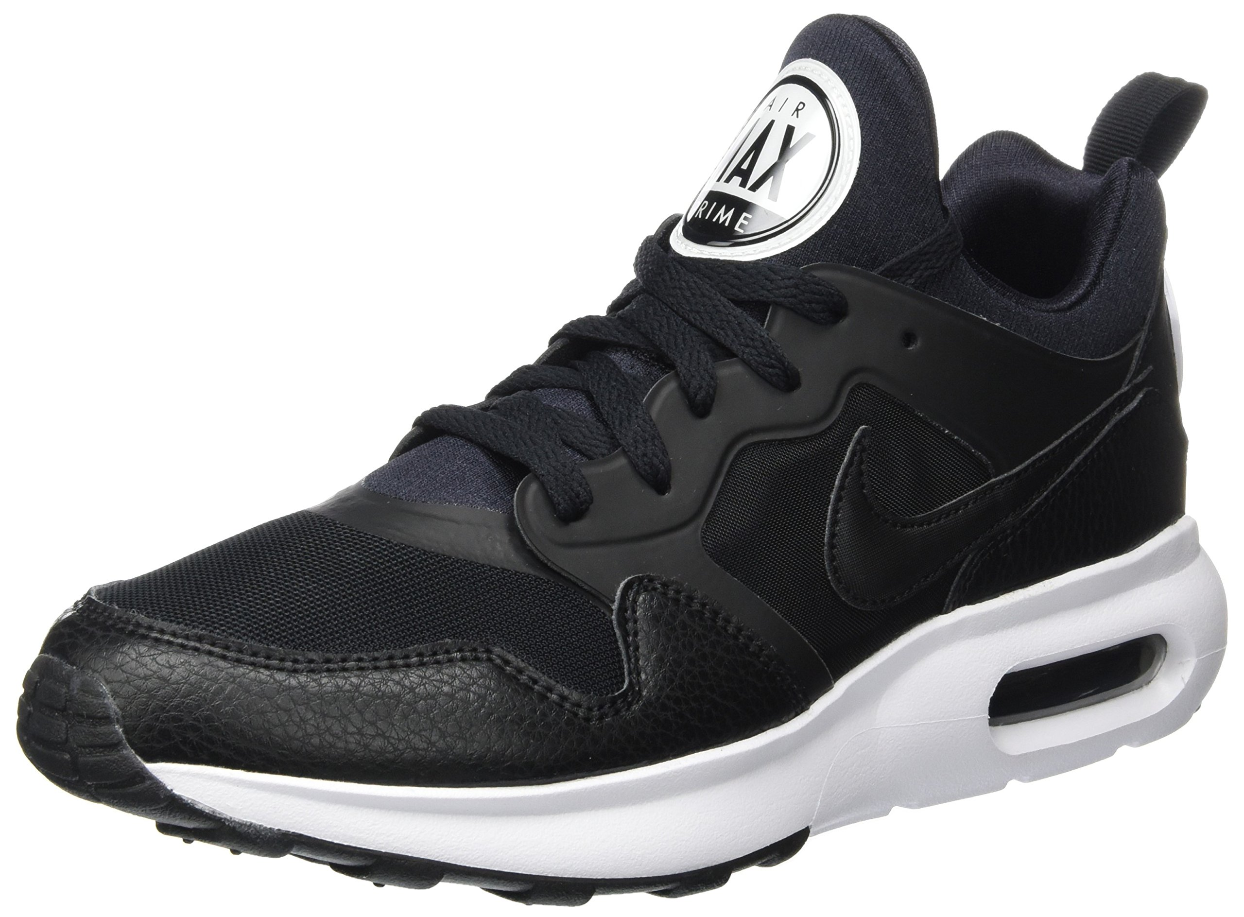 NIKE Mens Air Max Prime Running Shoes Black/White 876068-001 Size 10