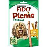 Fido Picnic Festival : au Bœuf, au Poulet, à l'Agneau - 126 g - Friandises pour Chien - Lot de 8