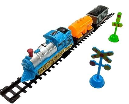Humaira Toys Train World Play Set With Tracks Toy