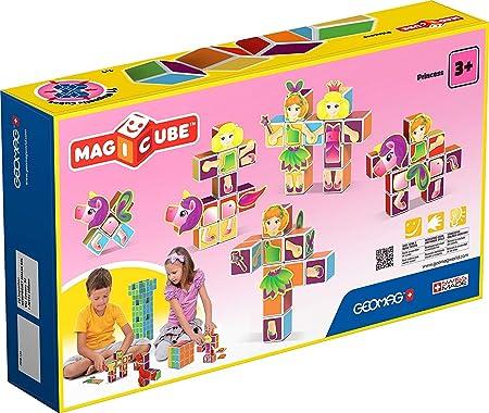Geomag Princess-35 pcs Magicube Princess, Cubos magnéticos, Multicolor (143): Amazon.es: Juguetes y juegos