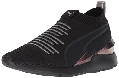 4aa726e58946 PUMA Women s Muse Slip On Wn Sneaker Black