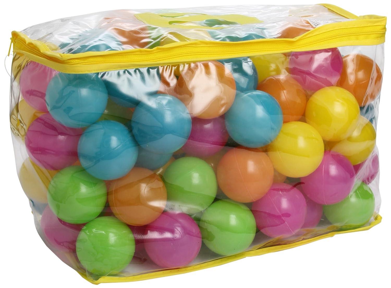 Bieco 22000520 balles Multicolores pastellpopping PE Lot de 100