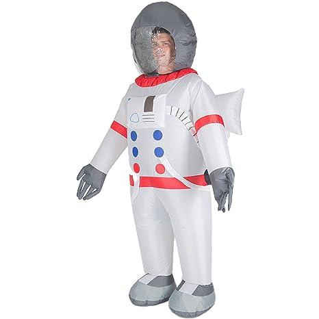 Bodysocks Adult Inflatable Astronaut Fancy Dress Costume  sc 1 st  Amazon.com & Amazon.com: Bodysocks Adult Inflatable Astronaut Fancy Dress Costume ...