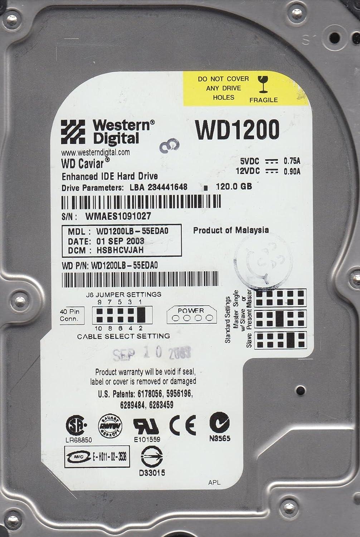 2061-001173-000 DA WD1200LB-55EDA0 WD IDE 3.5 PCB