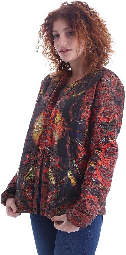 Desigual by Lacroix Womens Jacket Black 25 Sizes XS-XL