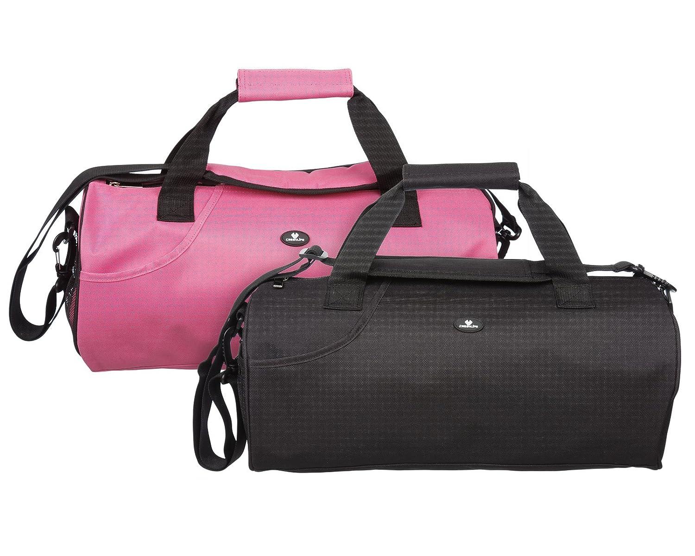 Case4Life Sac Gym Sport Duffle Résistante à l'eau + Bandoulière Rembourrée Amovible - Garantie à vie 1-GYM-Pink