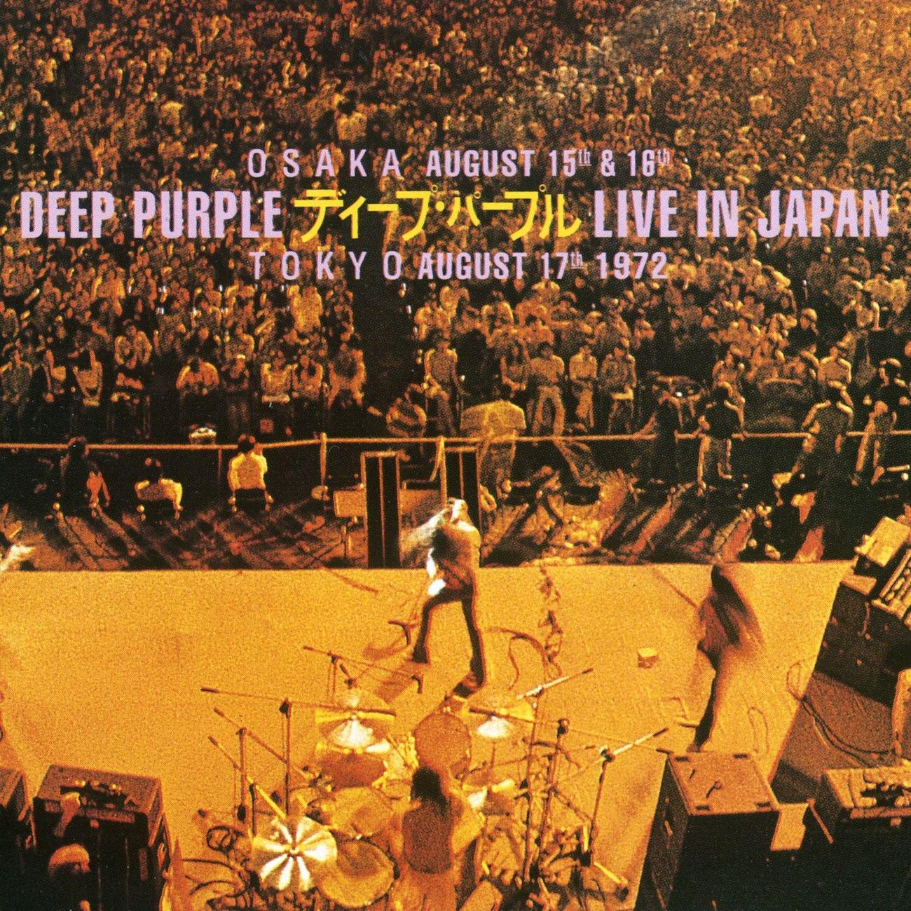 Long-awaited Live In Japan Ranking TOP5 UK