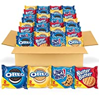 Deals on 56-Count Oreo Original, Oreo Golden Chips AHOY
