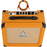 Orange Crush 20 Amp 20w CR20 Guitar Combo Amplifier Free Cable Bundle