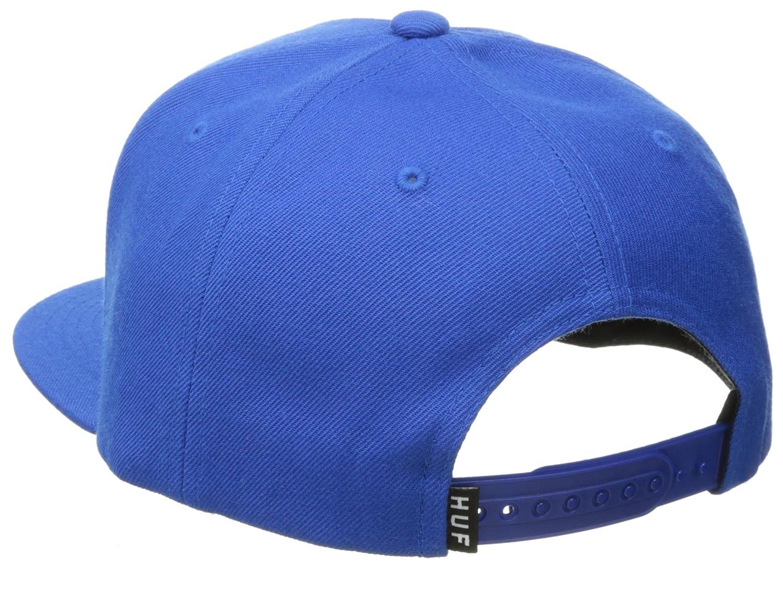 Gorra Box Logo de HUF - Azul - Ajustable: Amazon.es: Ropa y accesorios