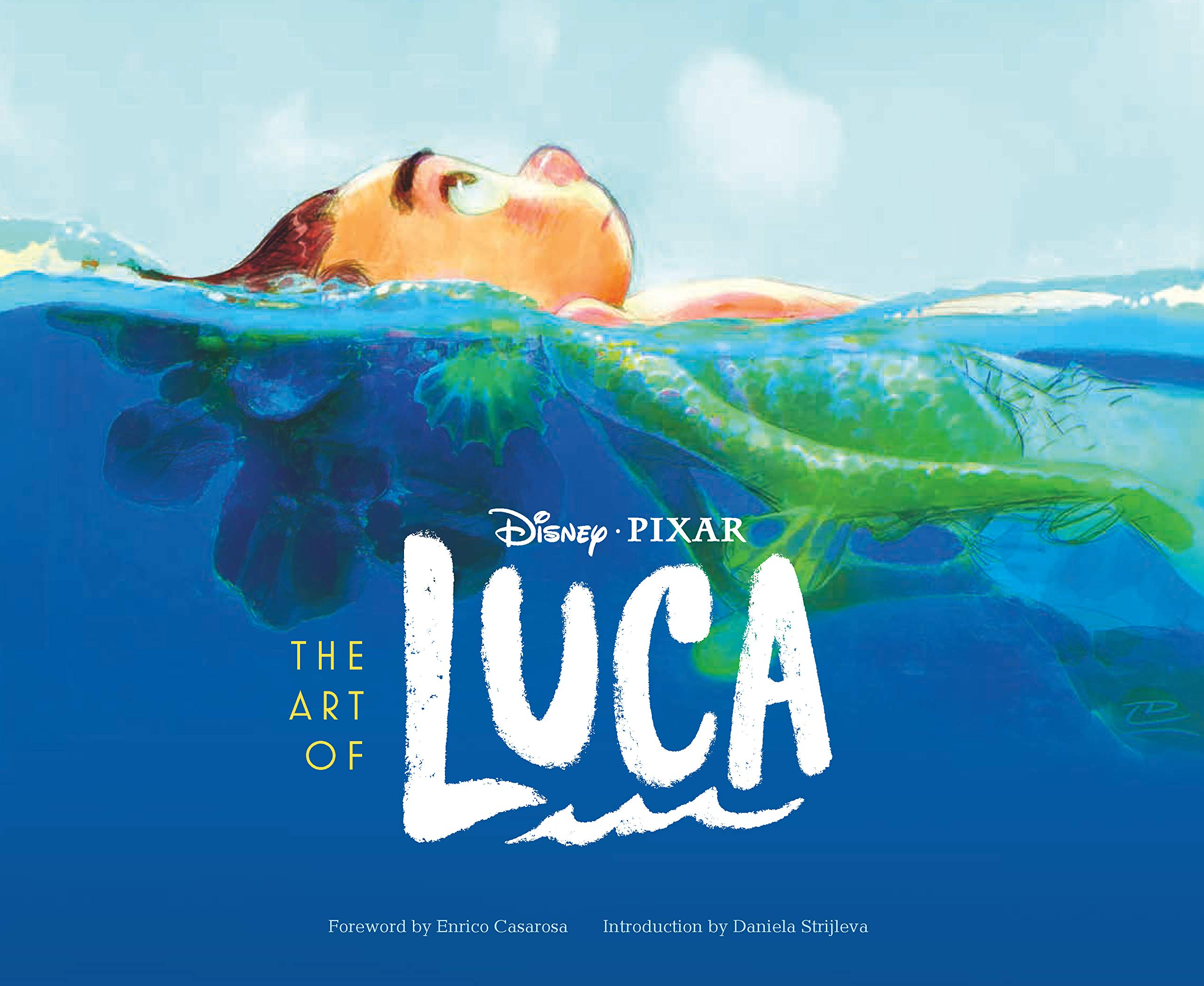 Amazon.com: The Art of Luca (9781797207254): Strijleva, Daniela, Casarosa, Enrico: Books