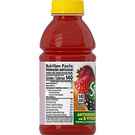 Amazon.com : V8 Splash Berry Blend, 16 oz. Bottle (Pack of 12) : Grocery & Gourmet Food