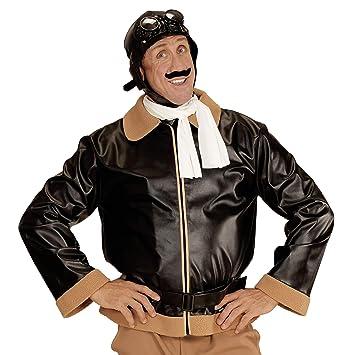 super pas cher le plus fiable Style classique Widmann 06593 ? Adultes Costume Retro Aviateur, Veste ...