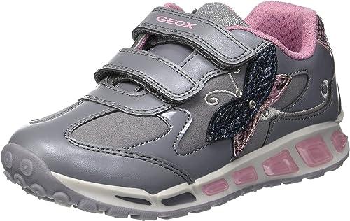 Cañón Conciencia orgánico  Geox J Shuttle Girl A, Zapatillas para Niñas: Amazon.es: Zapatos y ...