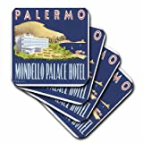 3dRose cst_129870_1 Vintage Palermo Italy Mondello