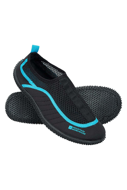 Mountain Warehouse Bermuda Womens Aqua Shoes   Neoprene Design Wet Shoes   Mesh Panel Water Shoes