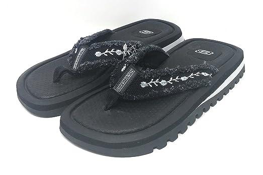 Skechers Heatwaves Black Women's Size 6 (45798)