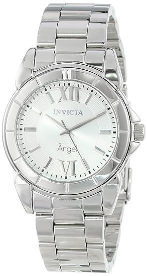 Invicta 0457 - Reloj para mujer color plateado/plateado: Amazon.es: Relojes