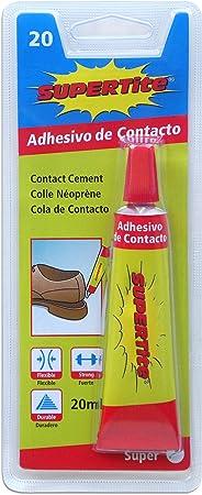 Supertite 2420 Adhesivo contacto, multicolor, 30: Amazon.es ...