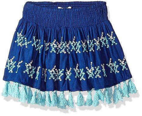 f4eb45dd61 Amazon.com: OndadeMar Girls Lotto Skirt Cover-up: Clothing