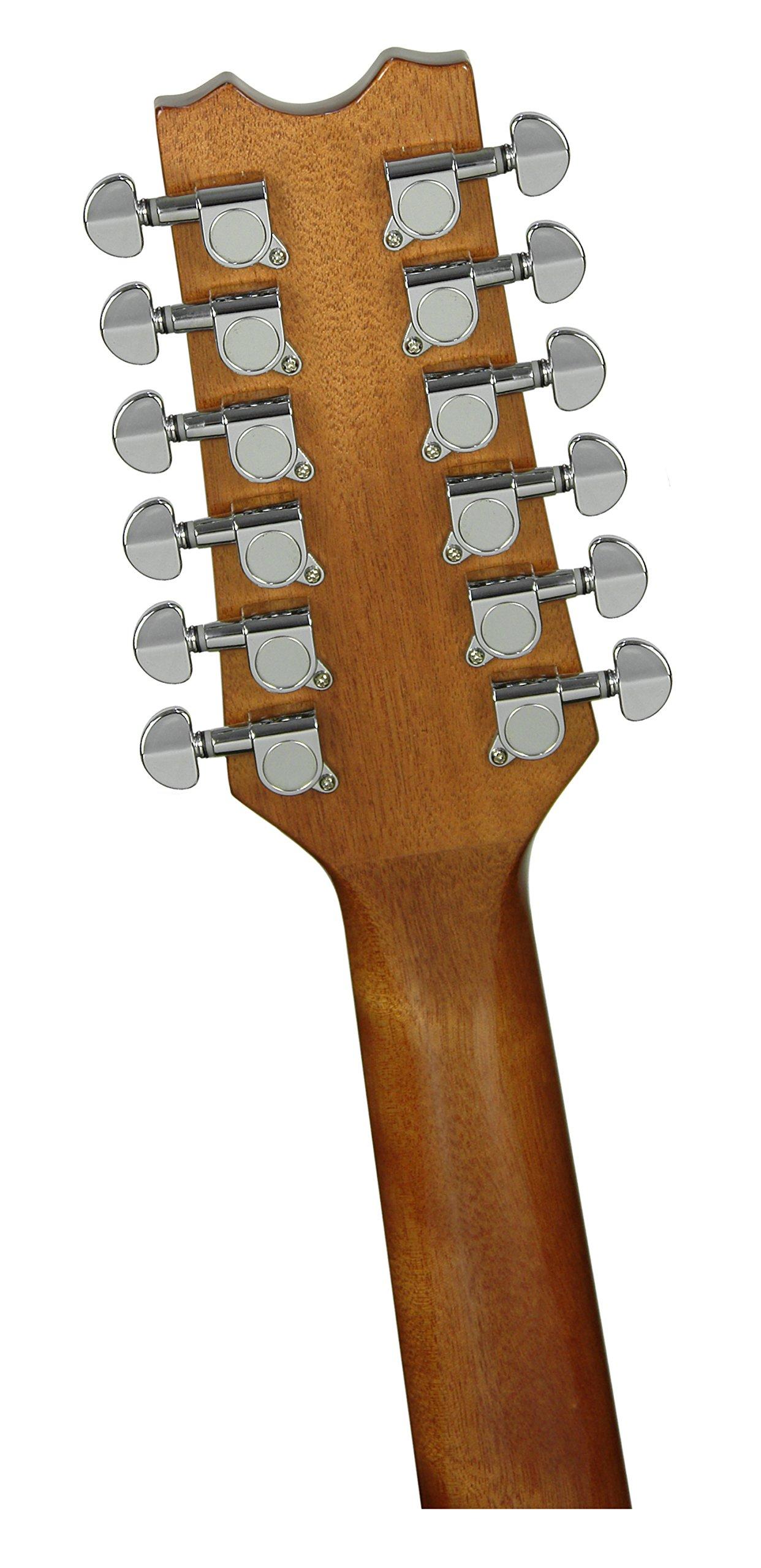 Dean Exotica Quilt Ash Acoustic Electric 12 String Guitar