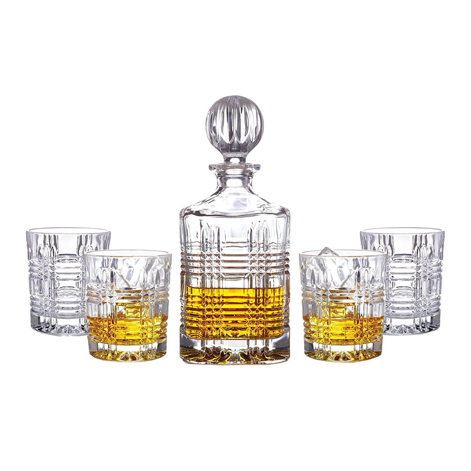 amazon com fitz and floyd 306050 5gb 5 piece portland decanter