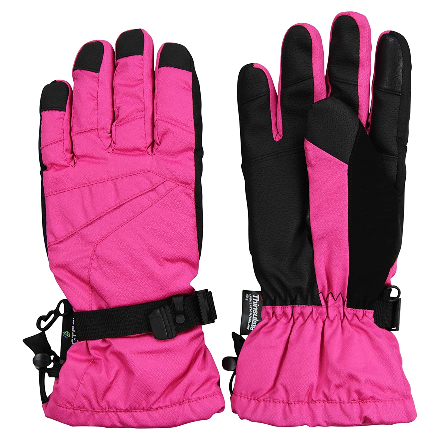 Womens Insulated Waterproof Winter Snow Ski Glove Grand Sierra