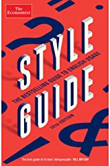 The Economist Style Guide: 12th Edition Kindle Edition