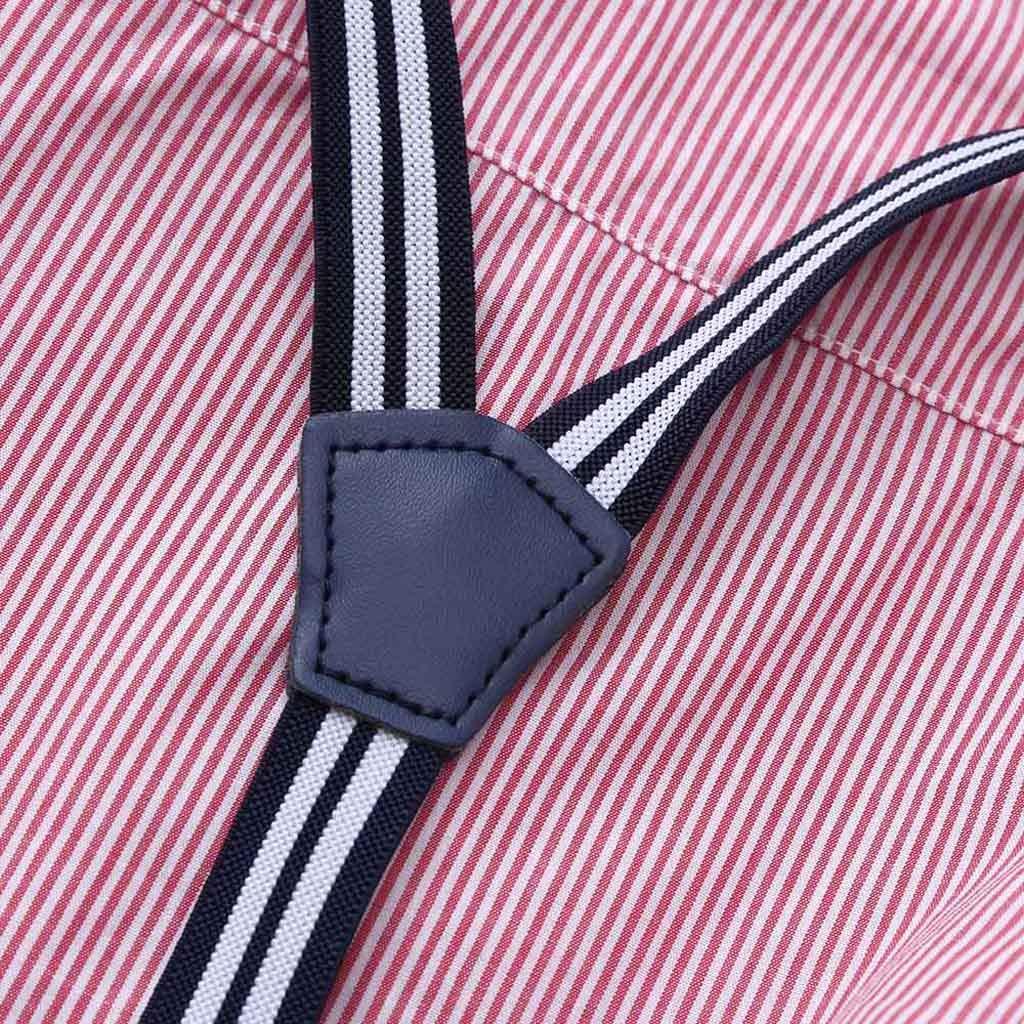 2PCS Fliege T-Shirt Tops Hosen Junge Kleidung Set,TTLOVE Kleinkind Junge Overalls Outfits Bekleidungssets Kinder Baby Boy Gentleman Anz/üge /& Sakkos Smokings