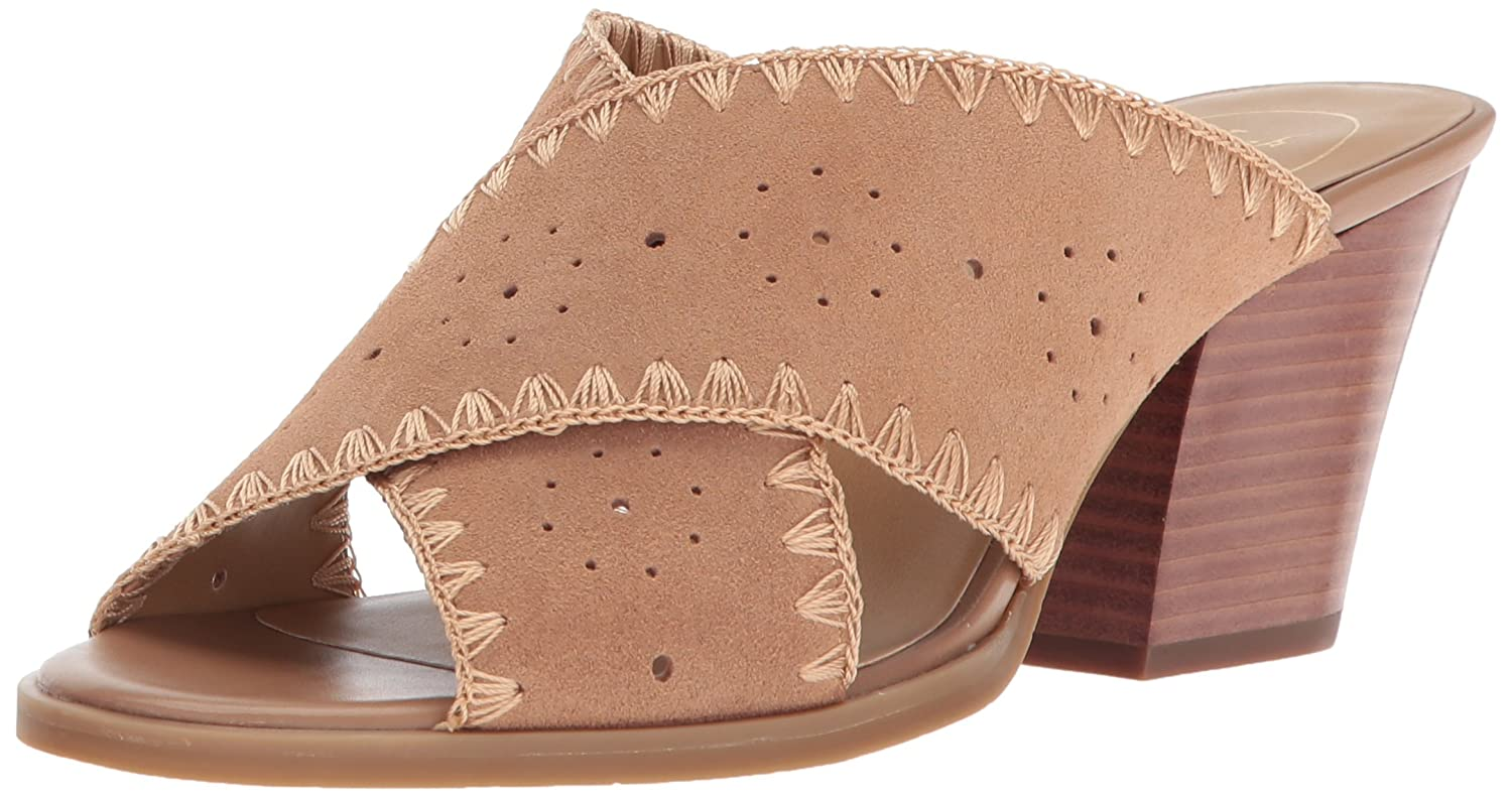 Jack Rogers Women's Blakely Suede Slide Sandal B072MM2FD2 5 B(M) US|Oak
