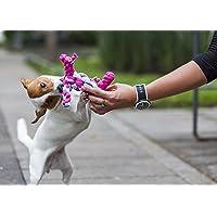 Mordedera para perro en forma de perro, elaborado con materiales de reuso por jóvenes en proceso de reinserción